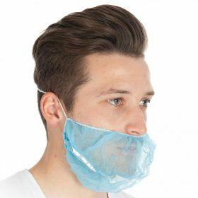 PP baardmasker non-woven detecteerbaar blauw DTECT
