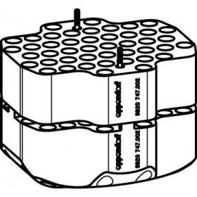 Eppendorf SET: 2 Adapters voor 92x1,5/2,0ml microtubes voor rotor S-4xUniversal-Large