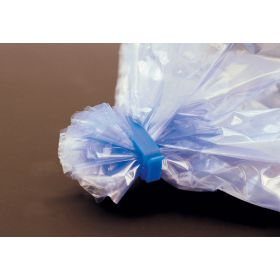 Clips blauw PP L60mm (zakkensluiting)