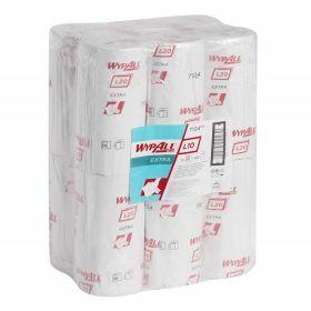 Wypall L10 Extra poetsdoeken, wit, kleine rollen