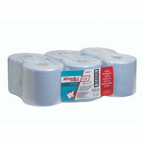 Wypall L10 Extra poetsdoeken, blauw, rol (700d.) 1-laags