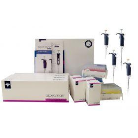 Gilson PIPETMAN L Starter Kit, P2L, P20L, P200L, P1000L