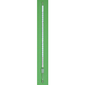 Thermometer rode vulling 350mm -10°C...+150°C:0.5 + NS 14,5/23