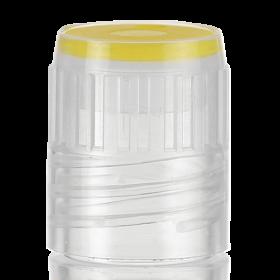 Color insert voor Cryovial slimtube - geel