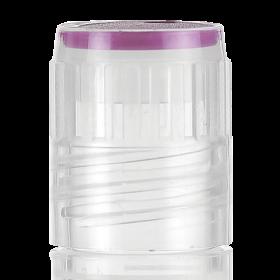 Color insert voor Cryovial slimtube - paars