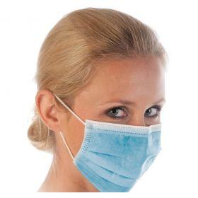 Chirurgisch masker 3-laags Type IIR - PP - blauw