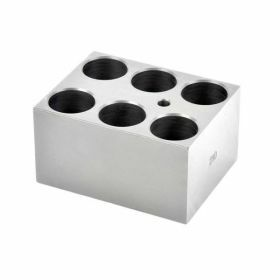 Ohaus Moduleblok 25 mm Reageerbuis 8 Gaten