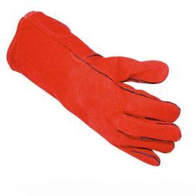 Weld lashandschoen rood - one size XL