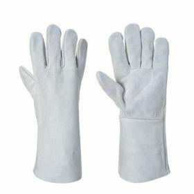Fortis lashandschoen wit XL