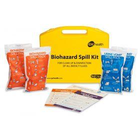 Lichaamsvloeistoffen Spill Kit (Standaard / 4 Packs)