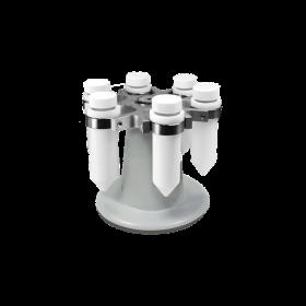 Rotor R6 met adapters voor 6 x 50ml tubes- POM