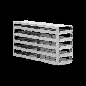 Liebherr RVS rek met schuifladen 5x4