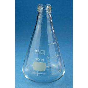 Duran® Erlenmeyer fles ISO 1773 met schroefdraad zonder PBT-schroefdop