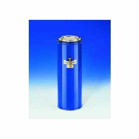 Dewarvat cylindrisch voor CO2 en LN2