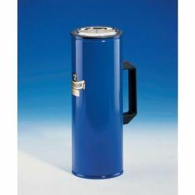 Dewarvat cylindrisch met zijhandgreep voor CO2 en LN2