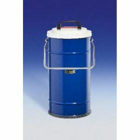 Dewarvat cylindrisch met handvat voor CO2 en LN2