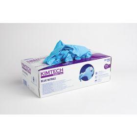 Kimtech Science blue nitrile handschoenen