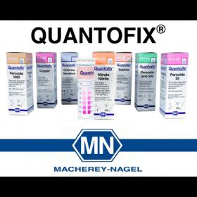 Quantofix® test strips voor semi-kwantitatieve bepalingen