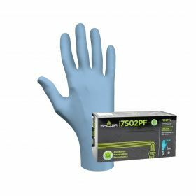 Handschoen Showa 7502PF - nitril (EBT) - poedervrij - 0.06mm
